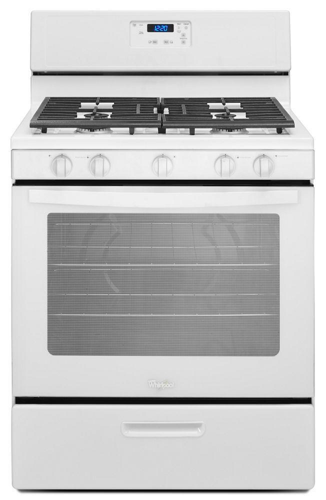 WhirlpoolWhirlpool® 5.1 Cu. Ft. Freestanding 5-Burner Gas Stove