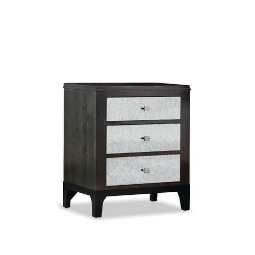 Durham Furniture - Night Stand W/Mirror Dwr Fronts