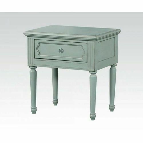 ACME Morre Nightstand - 30808 - Antique Teal
