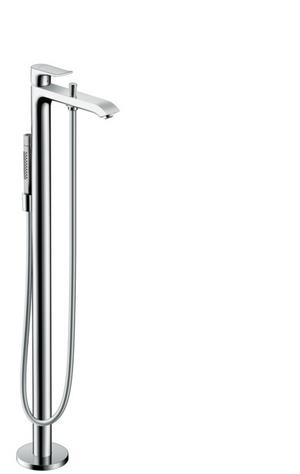 Chrome Freestanding Tub Filler Trim with 1.75 GPM Handshower Product Image