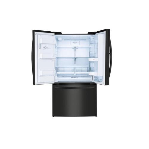 """LG Canada - 36"""" Matte Black French Door Refrigerator with Door-in-Door®, 28 cu.ft."""