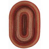 """Americana Country Red - Oval - 8"""" x 28"""""""