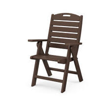 View Product - Nautical Highback Chair in Mahogany