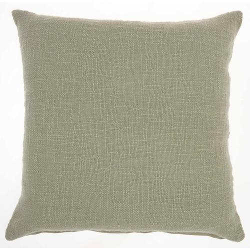"""Life Styles Sh021 Sage 18"""" X 18"""" Throw Pillow"""