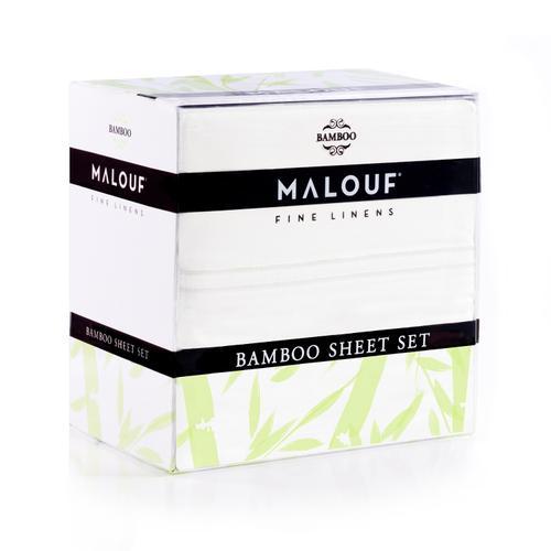 Malouf - Rayon From Bamboo Twin White