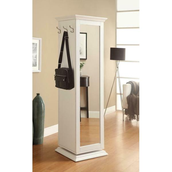 See Details - Casual White Accent Cabinet
