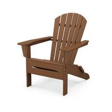 View Product - South Beach Folding Adirondack Chair in Teak