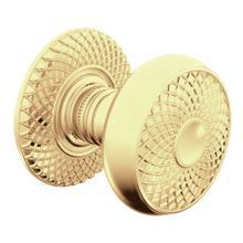 Lifetime Polished Brass K002 Estate Knob