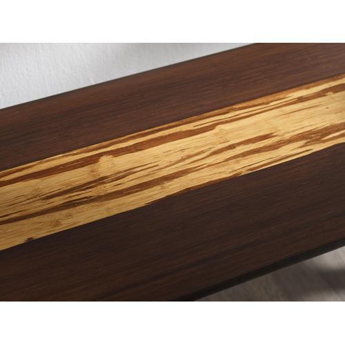 Greenington Fine Bamboo Furniture - Azara Bench, Sable