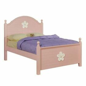 ACME Floresville Twin Bed - 00735T - Pink