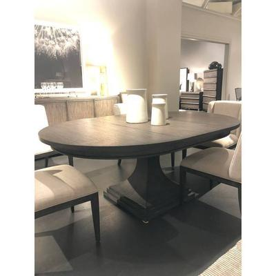 "Horizon 60"" Round Dining Table - Flannel"