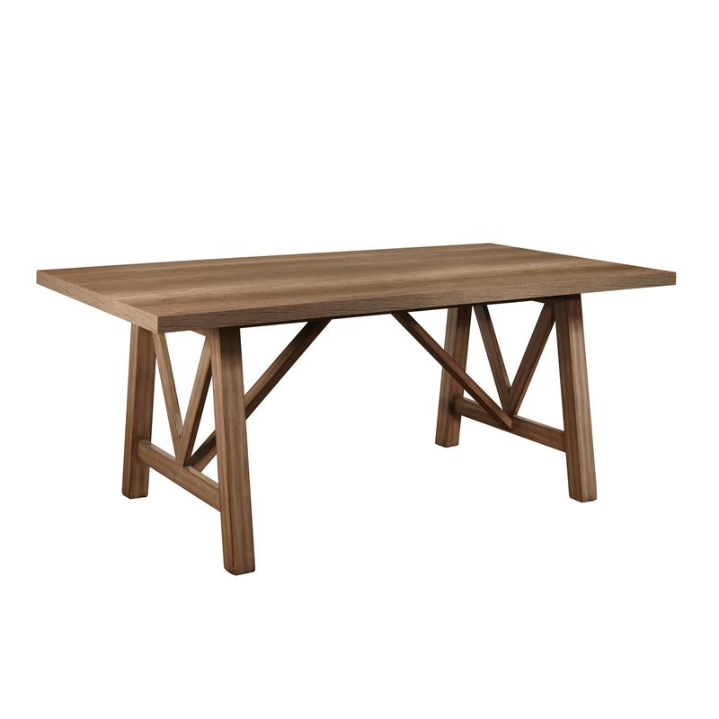 Carlton Trestle Dining Table Top & Base