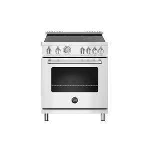 Bertazzoni30 inch Electric Range, 4 Heating Zones, Electric Oven Stainless Steel