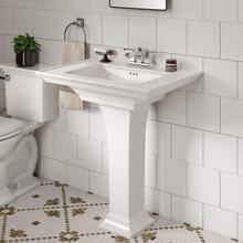 Town Square S Pedestal Sink - 4-inch Centers  American Standard - White