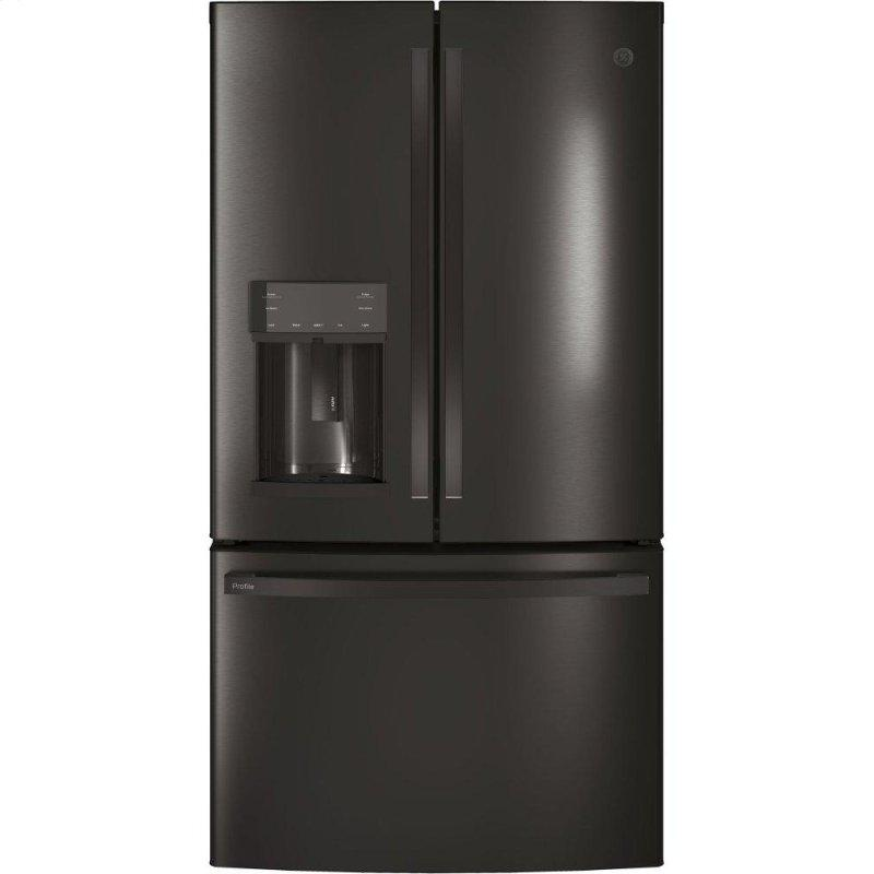 GE Profile(TM) Series ENERGY STAR(R) 27.7 Cu. Ft. French-Door Refrigerator with Hands-Free AutoFill