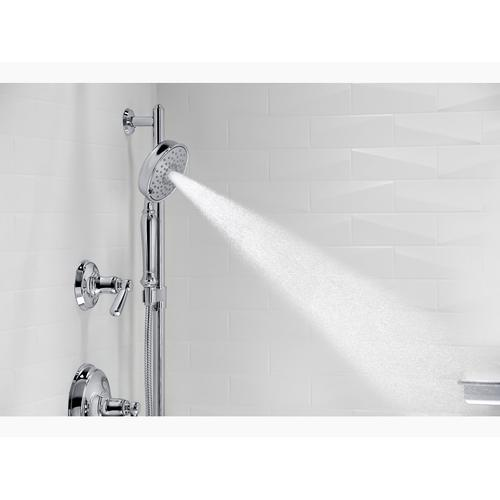 Vibrant Brushed Nickel 2.5 Gpm Multifunction Handshower With Katalyst Air-induction Technology