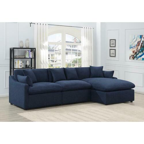 Coaster - 3pc Power Sectional