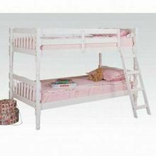 ACME Homestead Twin/Twin Bunk Bed - 02298_KIT - White
