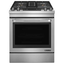 "Pro-Style® 30"" Dual-Fuel Downdraft Range Pro Style Stainless"