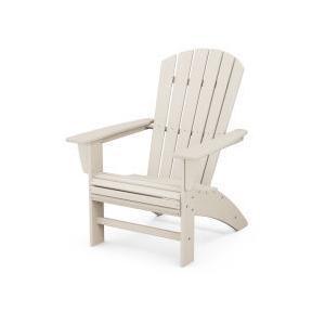 Polywood Furnishings - Nautical Curveback Adirondack Chair in Sand