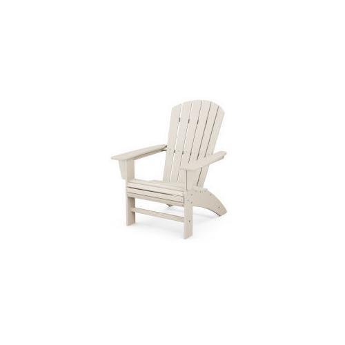 Nautical Curveback Adirondack Chair in Sand