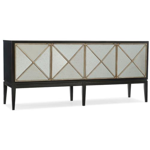 Living Room Melange Jova Four-Door Credenza