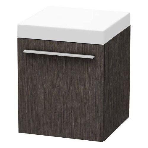 Duravit - Mobile Storage Unit, Brushed Dark Oak (real Wood Veneer)