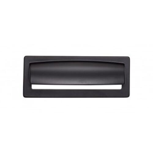Hollin Cup Pull 3 3/4 Inch (c-c) - Flat Black