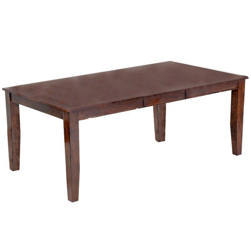 Kona Dining Table  Raisin