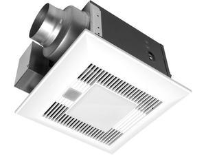 FV-08VKME3 WhisperGreen LED 80 CFM Ceiling Mounted Ventilation Fan with DC Motor and LED Light SmartAction® Motion Sensor Product Image