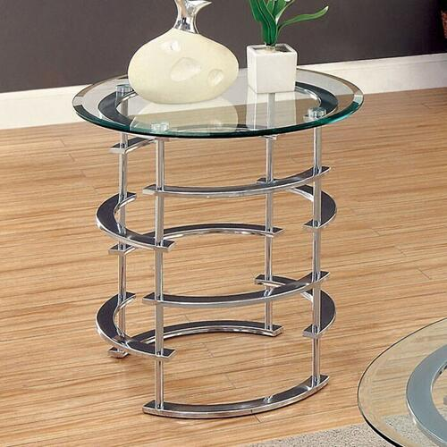 Gallery - Clonmel End Table, Chrome