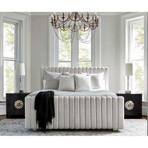King Silhouette Panel Bed