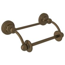 Edwardian Wall Mount Swing Arm Toilet Paper Holder with Lift Arm - English Bronze
