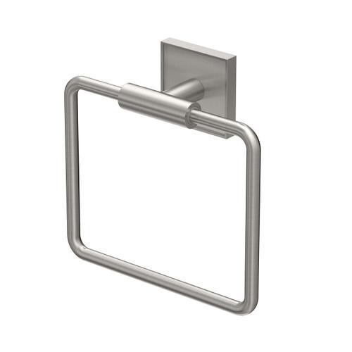 Mode Towel Ring in Satin Nickel