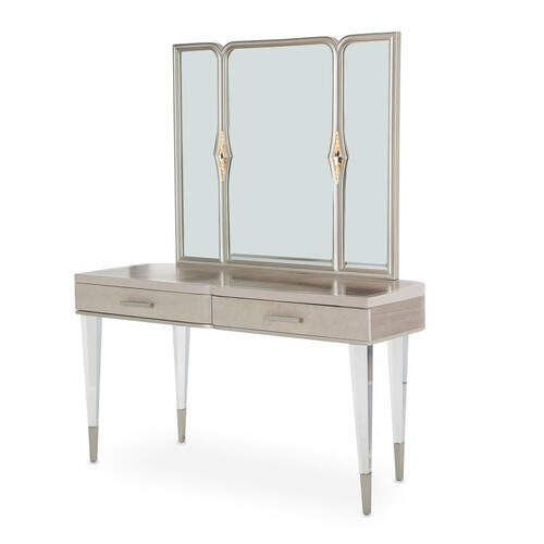 Product Image - Vanity Desk & Mirror 2pc