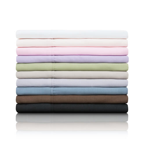 Brushed Microfiber Cot Blush