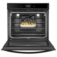 See Details - 5.0 cu. ft. Smart Single Wall Oven with True Convection Cooking Black