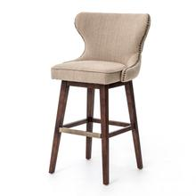 Bar Stool Size Hyde Clay Cover Julie Swivel Bar + Counter Stool