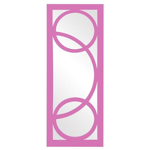 Howard Elliott - Dynasty Mirror - Glossy Hot Pink