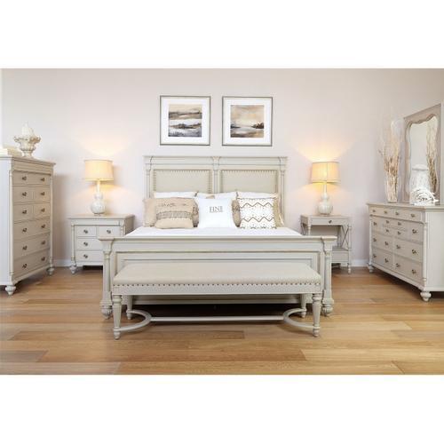 Queen Brookston Uph Bed