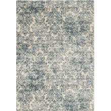 """Provence 8609 Ivory/blue Damask 5'3"""" X 7'7"""""""