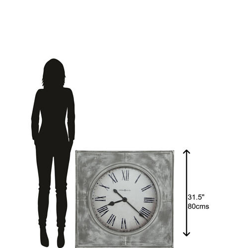 Howard Miller - Howard Miller Bathazaar Oversized Wall Clock 625622