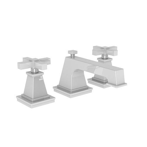 Newport Brass - White Widespread Lavatory Faucet