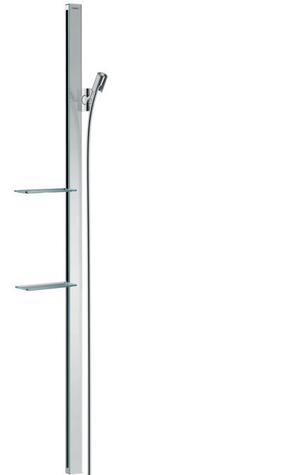 """Chrome Wallbar Raindance E, 60"""" Product Image"""