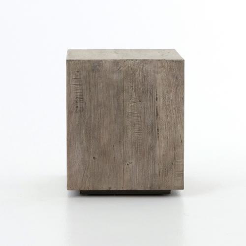 Halden Nightstand-vintage Grey