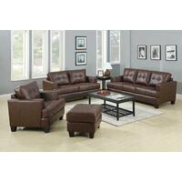 Samuel Transitional Dark Brown Sofa Product Image