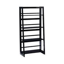 Dolce Black Folding Bookcase