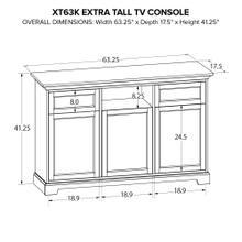 XT63K Extra Tall Custom TV Console