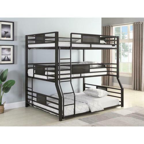 Coaster - F / Txl / Q Triple Bunk Bed
