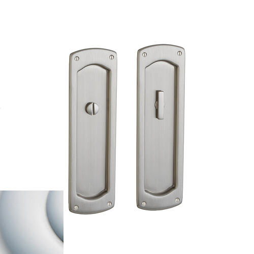 Baldwin - Satin Chrome PD007 Palo Alto Pocket Door